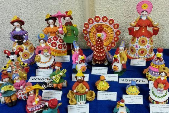 Самые известные народные промыслы в России Интересные факты Дымковская игрушка стала художественным промыслом