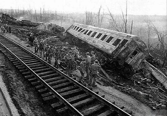 Крушение поезда под Уфой долго пытались скрыть