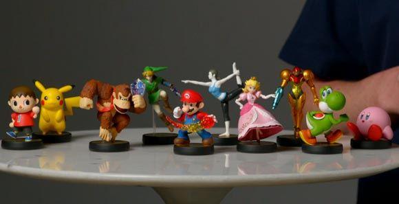 Фигурки Amiibo от японской Nintendo