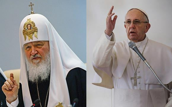 Папа Франциск и патриарх Кирилл обсудят гонения на христиан