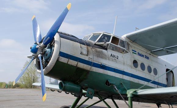 В Оренбургской области разбился самолет Ан-2