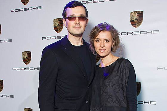Egor Beroev and Ksenia Alferova