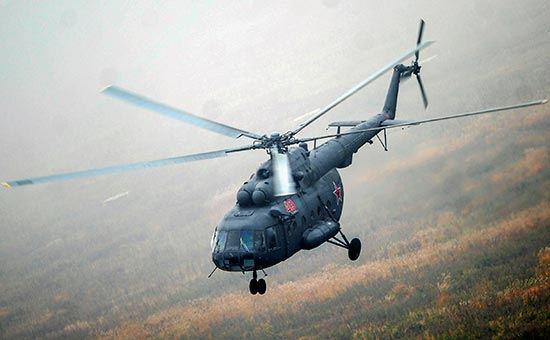 В Псковской области совершил вынужденную посадку вертолет Ми-8