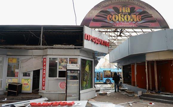 Власти Москвы начали в массовом порядке демонтировать самострой