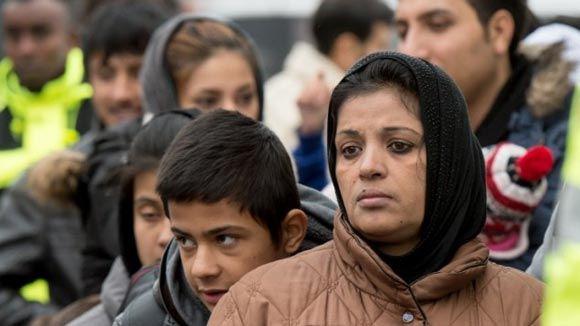 Полиция Швеции предотвратила нападение радикалов с топорами на лагерь беженцев