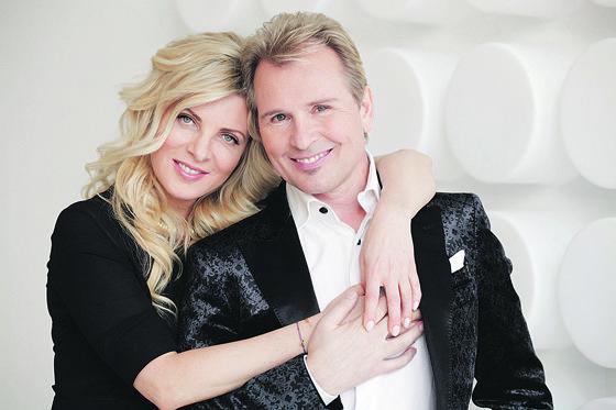 Малинин с женой Эммой