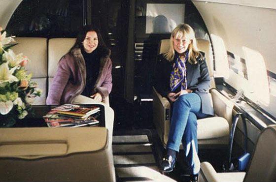 Людмила была владелицей частной компании элитных авиаперевозок Al Aire