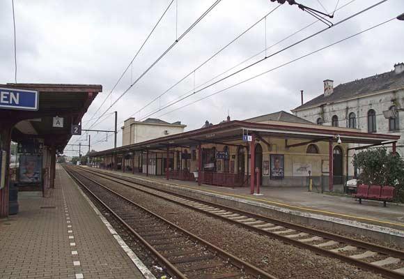 Бельгийский «поезд-призрак» перехватили на вокзале города Тинен