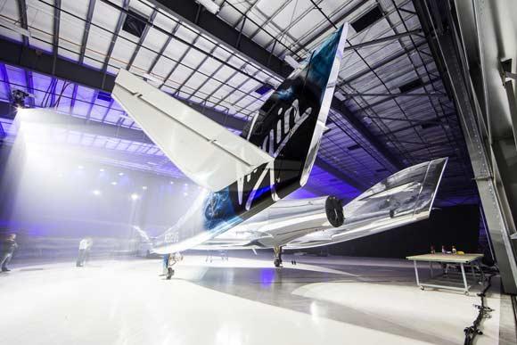 VSS Unity будет использоваться для туристических полетов на край атмосферы и космического пространства