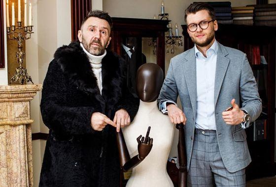 Сергей Шнуров и Антонио Паласиос-Фернандес