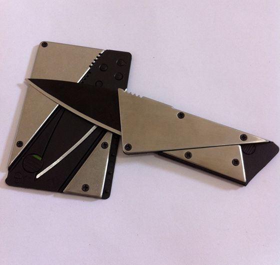 Оригинальный нож в формате пластиковой карты
