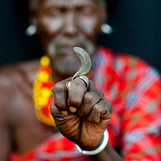 Пальцевой нож турканы - необычное холодное оружие