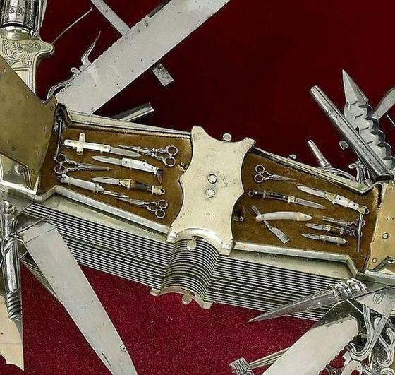 Многофункциональный, но не самый удобный нож, который признали самым необычным в мире