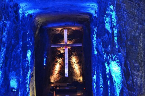 Соляной Собор - одна из главный достопримечательностей Колумбии