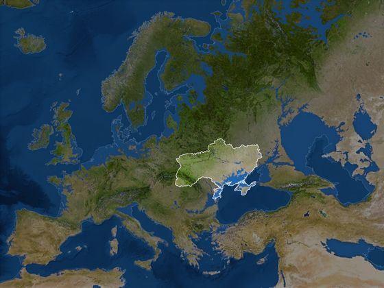 Украина - самая большая по площади страна в Европе