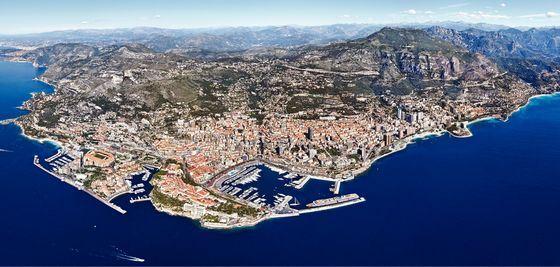 Княжество Монако как на ладони