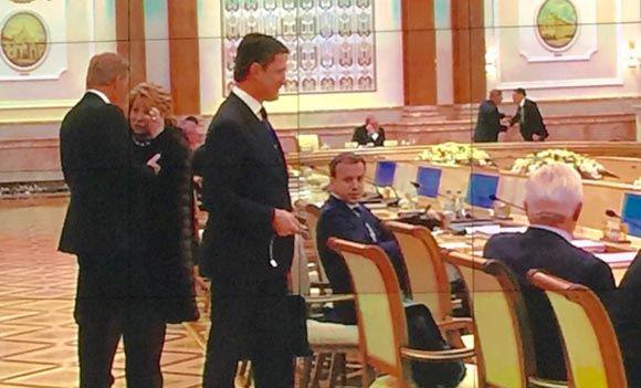 Матвиенко надела шубу на заседание в Минске из-за холода в зале