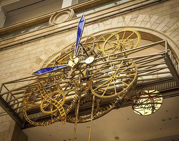 Часы в «Детском мире» были установлены во время длительной реконструкции