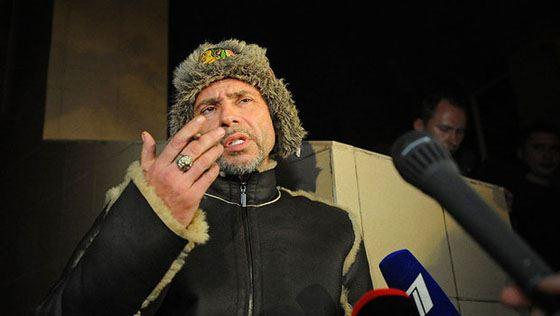Валерий Николаев после задержания