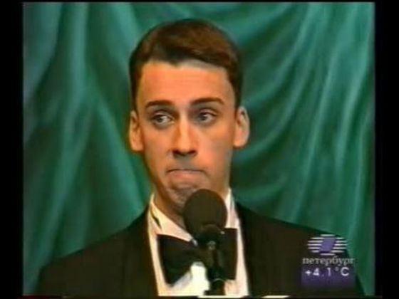 Одно из первых выступлений Максима Галкина в 1998 году