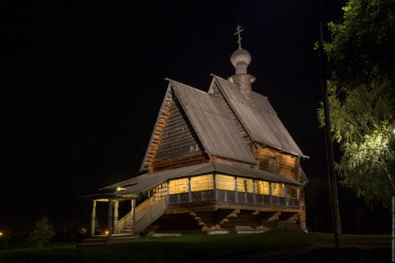 Nikolskaya (Glotovskaya) wooden church