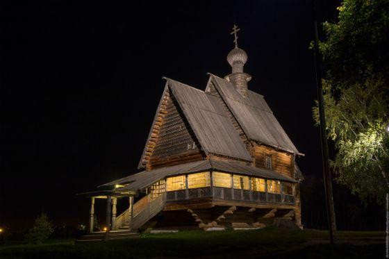 Никольская (Глотовская) деревянная церковь