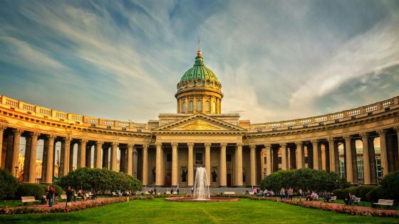 Kazan Cathedral in St. Petersburg