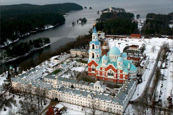 Мужской монастырь на острове Валаам