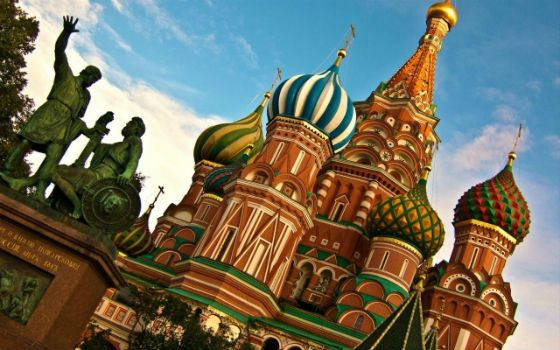St. Basil's Cathedral (Intercession of the Holy Virgin) in Moscow