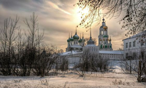 The temples of Russia are amazing beauty and grandeur