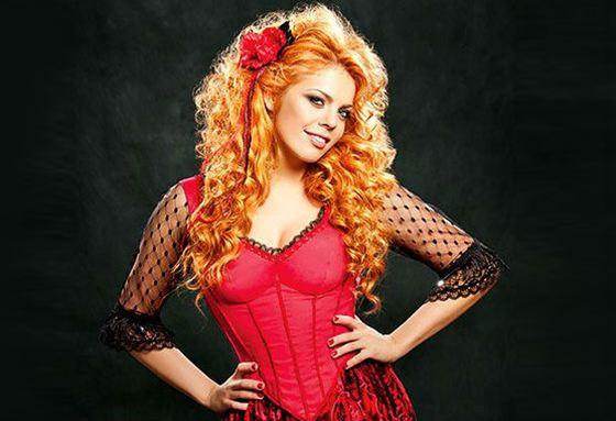 Pop singer Anastasia Stotskaya