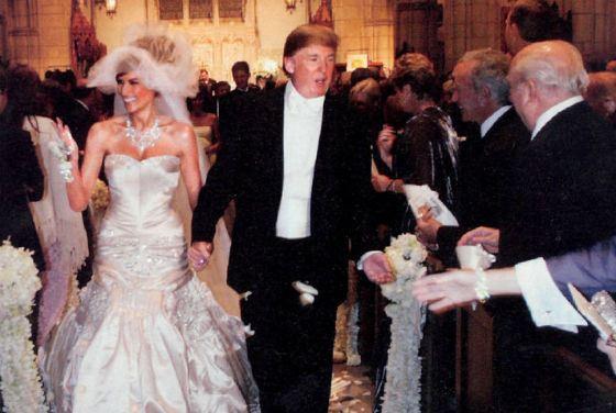 Свадьба Мелании Кнаусс и Дональда Трампа