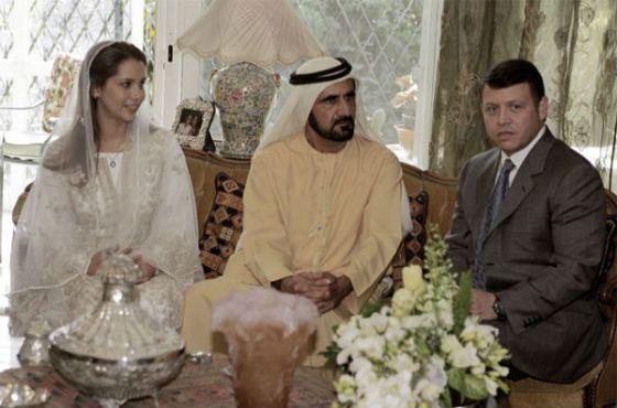 Свадьба шейха аль-Мактум и принцессы Саламе