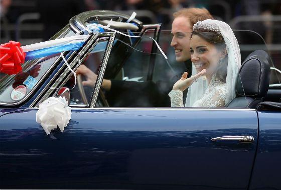За королевской свадьбой наблюдали миллионы