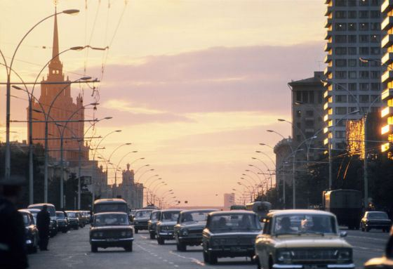 Frames with views of Moscow made the film not like a TV show