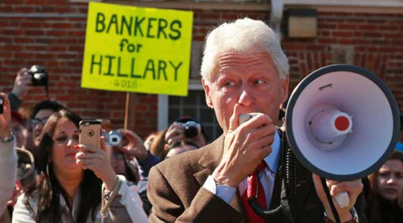 Bill Clinton campaigned in the wrong place and angered American voters.
