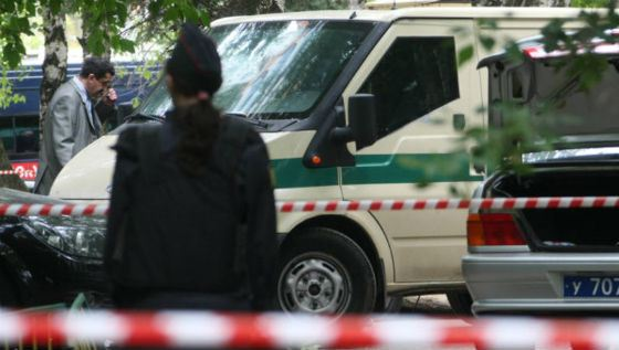 Жестокое убийство инкассаторов банка «Инкахран»