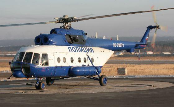 Вертолет МВД упал во Владимирской области
