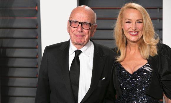 84-летней Руперт Мердок женился на 59-летней экс-модели
