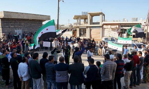 Сирийская оппозиция призвала создать группу для разработки новой конституции