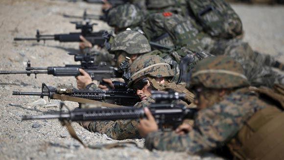 Южная Корея и США начали масштабные совместные учения