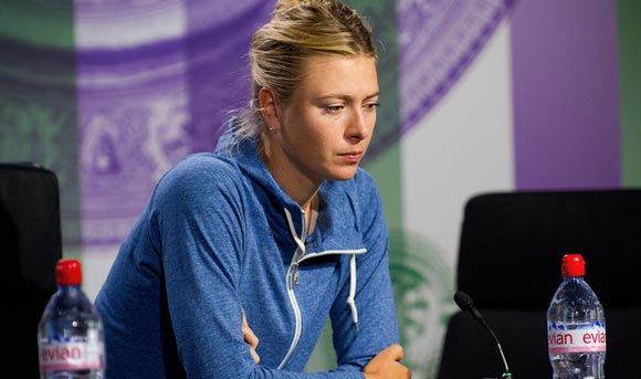 Sharapova hopes not to end her career on the doping scandal