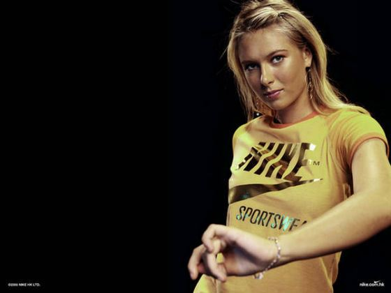 Мария Шарапова в рекламной кампании Nike