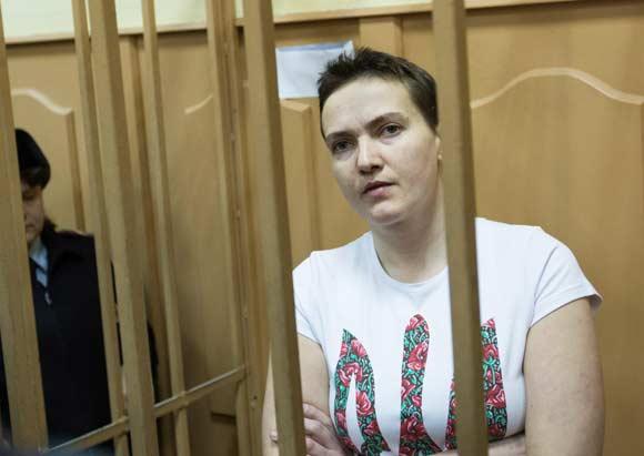 Савченко завершила сухую голодовку из-за пранкера