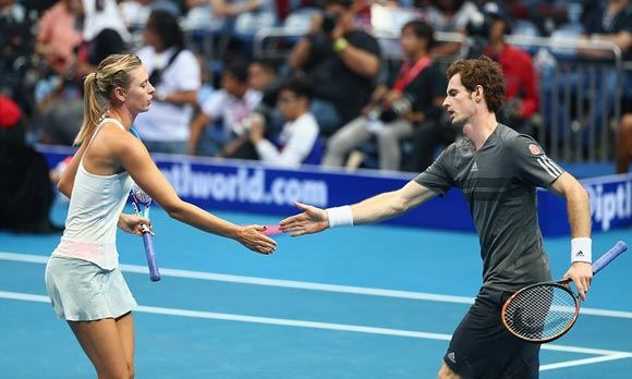 Andy Murray said that Sharapova herself was to blame for her problems