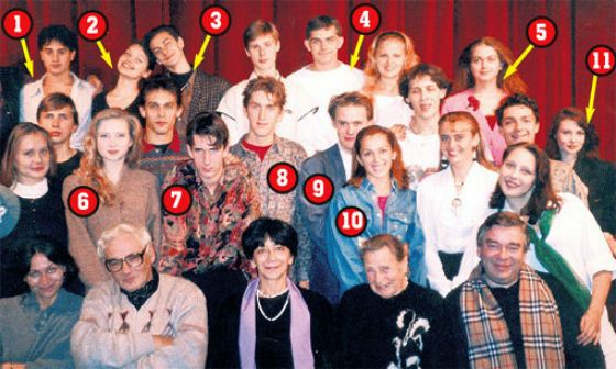 "Release of the ""Pike"" in 1997 (Maxim Averin at number 9)"