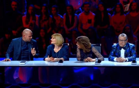 Максим Аверин на жюри «Точь-в-точь»