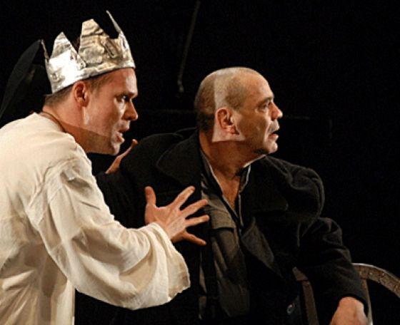 Одна изо трех ролей Аверина на спектакле «Ричард III»