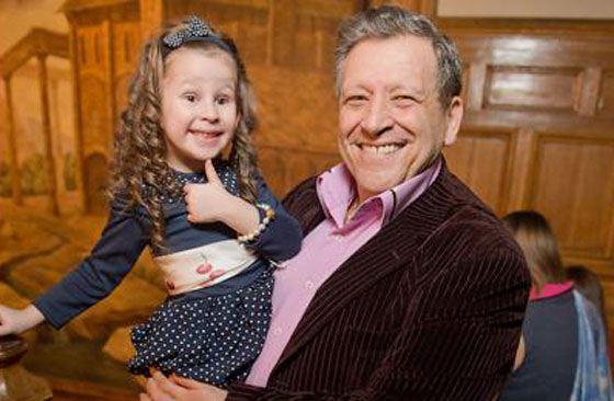 Борис Грачевский с дочкой