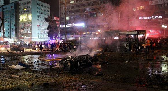 СМИ: Взрыв в Анкаре – дело рук двух террористов-смертников